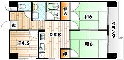 第3廣木興産ビル[4階]の間取り