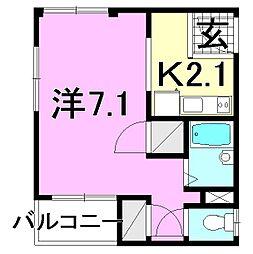 湊町マンション[401 号室号室]の間取り