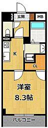 LOCUS1[4階]の間取り