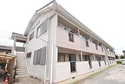 埼玉県越谷市登戸町の賃貸アパートの外観