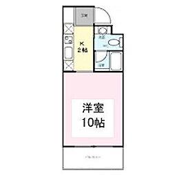 FULL HOUSE[5階]の間取り