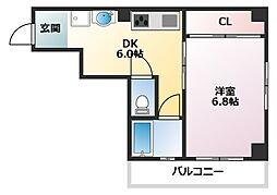 田中マンション[301号室]の間取り