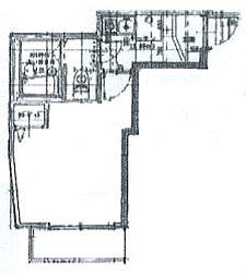 ポラタ南太田[3階]の間取り