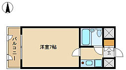メインステージ武庫川[6階]の間取り