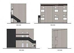 (仮称)小路東3丁目B棟[2階]の外観
