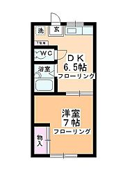 第2多田ハイム[1-6号室]の間取り