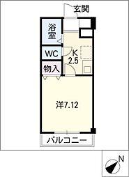 TKハイツII[1階]の間取り