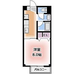Ein Sakurai[101号室]の間取り