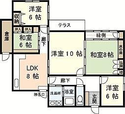 [一戸建] 広島県広島市佐伯区三宅3丁目 の賃貸【/】の間取り
