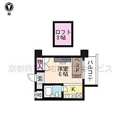 ACT21(家具付)[1004号室]の間取り