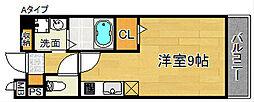 ベル・アルモニー1番館[1階]の間取り