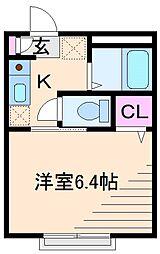 スキップハウス[1階]の間取り