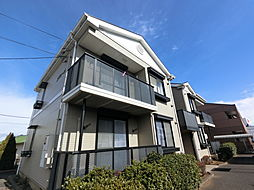 千葉県成田市飯田町の賃貸アパートの外観