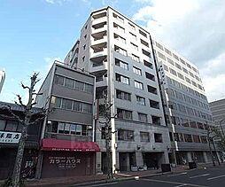 京都府京都市右京区西大路通高辻上る西院平町の賃貸マンションの外観