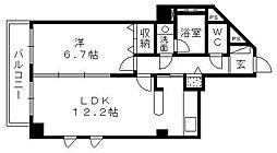 佐鳴湖パークタウンサウス[2階]の間取り