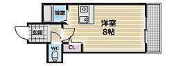 CTビュー永和[6階]の間取り