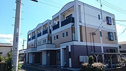 群馬県前橋市青柳町の賃貸アパートの外観