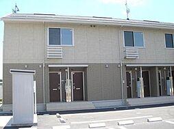長野県千曲市新田の賃貸アパートの外観