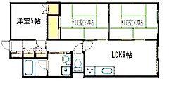 サンビル(富士見町)[2階]の間取り