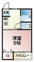 LS HEIGHTS 01[1階]の間取り