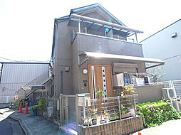 東京都足立区関原1丁目の賃貸アパートの外観