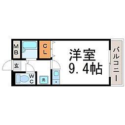 MARIMOマンション (マリモマンション)[4階]の間取り