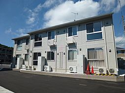 岡山県倉敷市児島下の町2丁目の賃貸アパートの外観