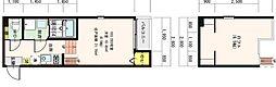 仮)中浜1丁目SKHコーポB[2階]の間取り