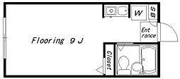 コーポEN(1696)[206号室]の間取り