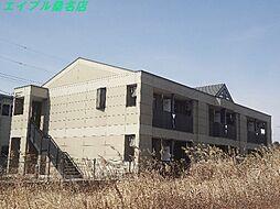 三重県いなべ市員弁町上笠田の賃貸アパートの外観