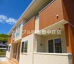 岡山県倉敷市真備町尾崎丁目なしの賃貸アパートの外観