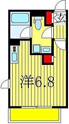 エミネンス船橋II[1階]の間取り