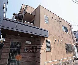 京都府京都市右京区山ノ内西裏町の賃貸マンションの外観