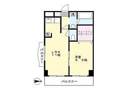 オーキッドガーデン[3階]の間取り