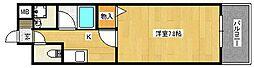サムティ・ラガール住道[5階]の間取り