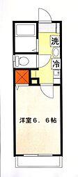エレガンス霞ヶ関[2階]の間取り