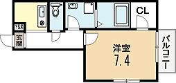 エスポワール弐番館[2階]の間取り