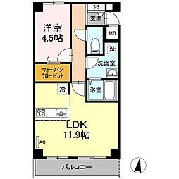 仮)D−room宮内4丁目[103号室]の間取り