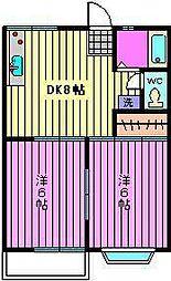 メゾン ミユキ[2階]の間取り