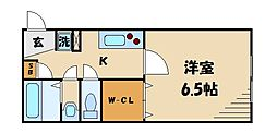 東京都板橋区東新町2丁目の賃貸マンションの間取り