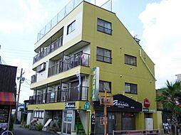 東京都福生市大字福生二宮の賃貸マンションの外観