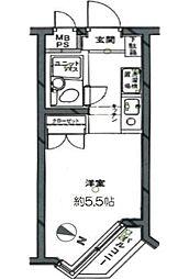 日神パレステージ代田橋[3階]の間取り
