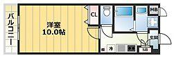 プリマベーラ新今里[1階]の間取り