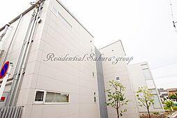神奈川県横浜市栄区笠間3丁目の賃貸アパートの外観