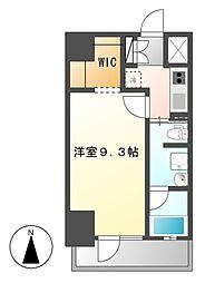ル・ブルー鶴舞[4階]の間取り
