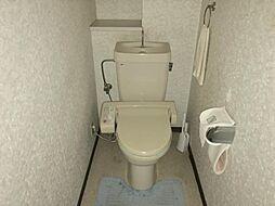 機能付きトイレです