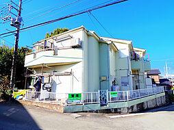 埼玉県狭山市狭山の賃貸アパートの外観