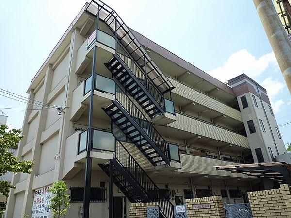 マンション完洋荘[4階]の外観