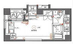ARANCIA Yokohama-TSURUMI[2階]の間取り