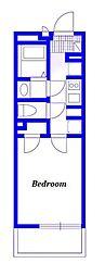 JR京浜東北・根岸線 浦和駅 徒歩8分の賃貸マンション 1階1Kの間取り